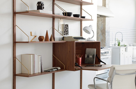 Working in Style: Modern Home Offices That Make an Impact | Evoke Modern Homes | Scoop.it
