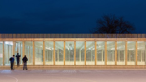 Innovative Sustainability: Matchbox Elementary School Sports Hall | sustainable architecture | Scoop.it