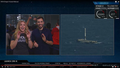 Elon Musk's Most Unexpected Success Is the SpaceX Live-Stream   The NewSpace Daily   Scoop.it