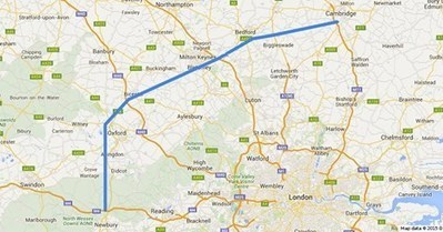 New Oxford Cambridge Expressway Proposed - Oxford Prospect | energy journalist | Scoop.it