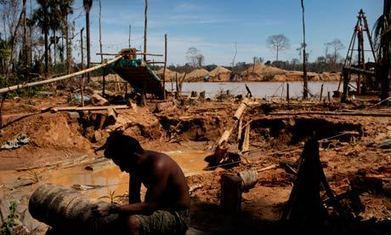 Illegal gold mining exposing Peru's indigenous tribes to mercury poisoning #IdleNoMore | IDLE NO MORE WISCONSIN | Scoop.it