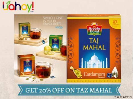 Taz Mahal Tea Promotion - Uahoy | Software | Scoop.it