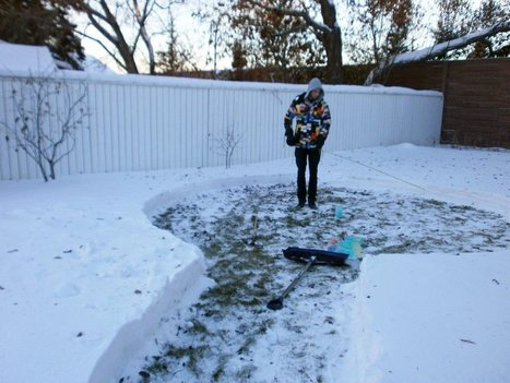 What This Couple Built In Their Snowy Backyard Made Me Insanely Jealous. Seriously...Wow. | Hope | Scoop.it