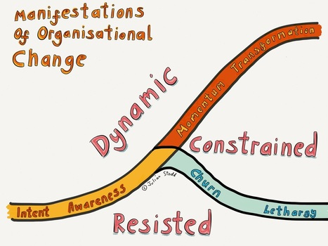 3 Organisational Change Curves: Dynamic, Constrained, Resisted | Innovatie | Scoop.it