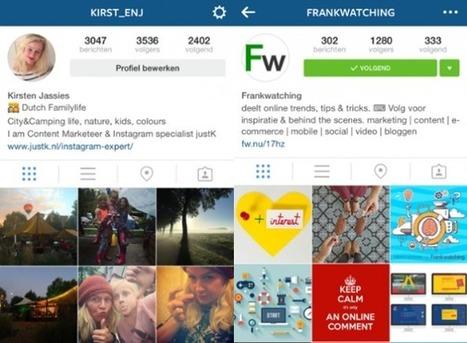 Zo schrijf je de perfecte profieltekst voor Instagram - Frankwatching | Instagram | Scoop.it