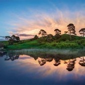 Interesting Photo of the Day: Hobbiton in the Morning | Travel Photography | Scoop.it