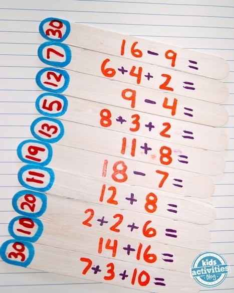 DIY Math Puzzlers - Kids Activities Blog | Foundation Phase | Scoop.it