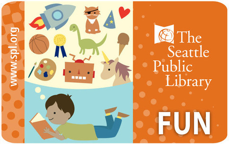 Seattle Public Library Unveils New Library Cards | LibraryLinks LiensBiblio | Scoop.it