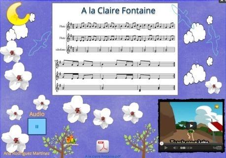Agustimúsica: A la claire fontaine#links#links#links | Música en primaria | Scoop.it