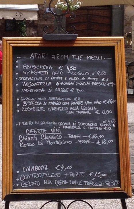 Travel Tips Part Two–Italy's Food   Italia Mia   Scoop.it