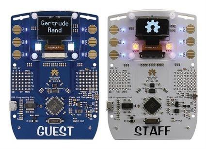 Hackable Electronic Badge | Parallax Inc | Open Source Hardware News | Scoop.it