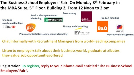 The Business School Employers' Fair | UoS Business School Undergraduate News | Scoop.it