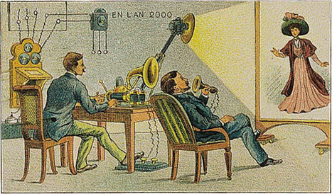 19th Century French Artists Predicted The World Of The Future In This Series Of Postcards | Wunderkammern | Scoop.it