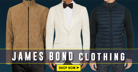 James Bond Suits | Tuxedo and Jackets of Spectre and Skyfall | celebrities suits | Scoop.it