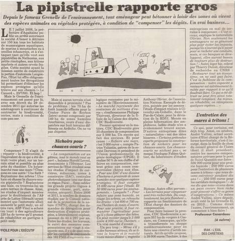 Canard enchainé 20-08-2014 | Ambiante | Scoop.it
