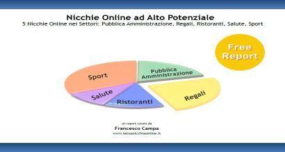 Report: 5 Nicchie Online nei Settori Pubblica Amministrazione, Regali, Ristoranti, Salute e Sport | Nicchie Emergenti | Scoop.it