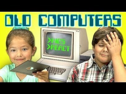 KIDS REACT TO OLD COMPUTERS - YouTube | From Chalkboards to Smartphones | Scoop.it
