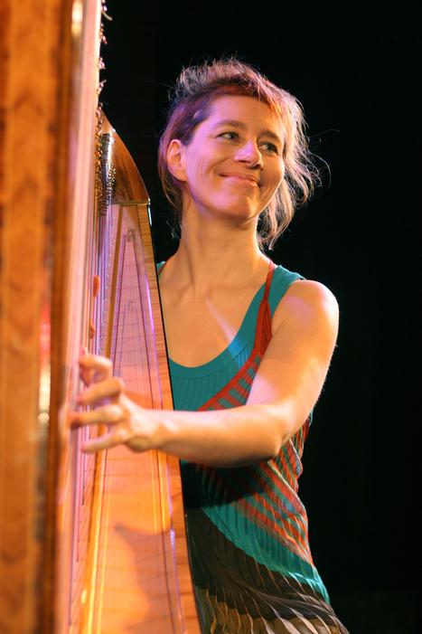 isabelle olivier, musicienne de la tête aux pieds, harpiste en jazz - Musicali  la musique à découvrir daniel bonin   A propos de harpe   Scoop.it