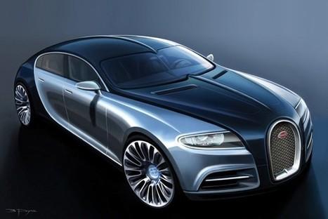 La Bugatti Galibier pour succéder à la Chiron ?   Auto , mécaniques et sport automobiles   Scoop.it
