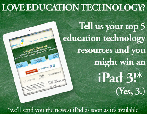 Share Your Favorite Resources To Win An iPad 3 (Yes, 3)! | Edudemic | Edtech PK-12 | Scoop.it