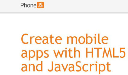 Top JavaScript Frameworks for Mobile Web Development | Software, Web and Multimedia Development | Scoop.it
