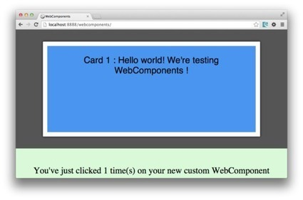 How to create a custom Web Component, simply   Next Web App   Scoop.it