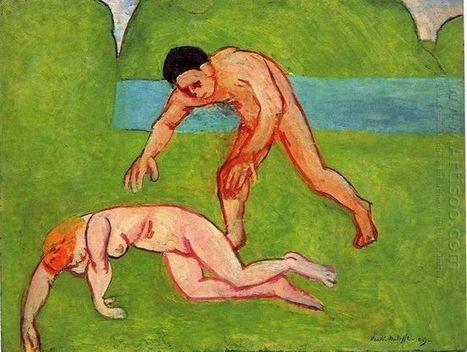 Nymphe et Satyre 1909 - Peinture à l'huile | famous paintings gallery | Scoop.it
