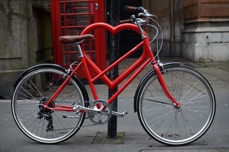 Heart Shaped Bike Racks Installed In London | AP HUMAN GEOGRAPHY DIGITAL  STUDY: MIKE BUSARELLO | Scoop.it