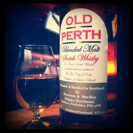 REMINDER! Old Perth Whisky Product Launch and Tasting | Culture Scotland | Scoop.it