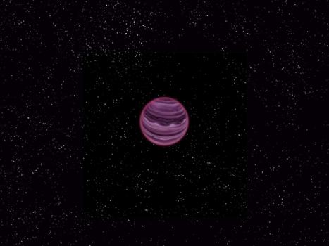 Découverte d'une étrange planète flottant seule dans l'espace   Un peu de tout et de rien ...   Scoop.it