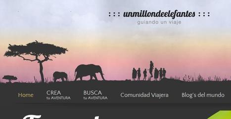Un millón de elefantes, la red social para los amantes de los viajes de aventura | Viajar en carretera gratis | Scoop.it