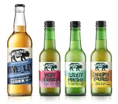 Blue Marlin creates 'loveable swine' identity for Orchard Pig cider and apple juice range | UK | Corporate Identity | Scoop.it