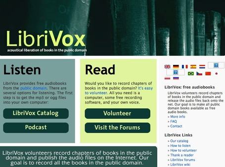 LibriVox - Free Audio Books | Young Adult Reads | Scoop.it