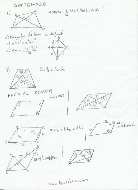 Geometri Ders Notları - KPSS Konu Anlatımı Video Soru Cevap   KPSS Delisi  KPSS Konu Anlatımı Video Soru cevap   Scoop.it
