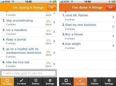 Les meilleures apps pour tenir ses résolutions en 2013 | Entrepreneurs du Web | Scoop.it