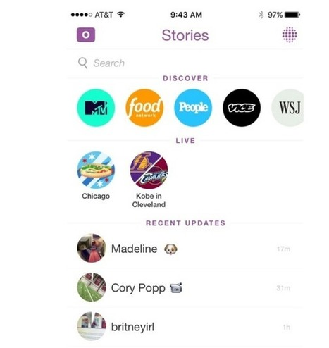 How to Creatively Use Snapchat for Business | SocialMedia_me | Scoop.it