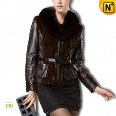 Women Black Sheepskin Jacket CW610032 - cwmalls.com | Fur Trimmed Coats | Scoop.it