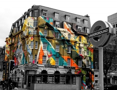 Anamorphose sur immeuble ! | The Architecture of the City | Scoop.it