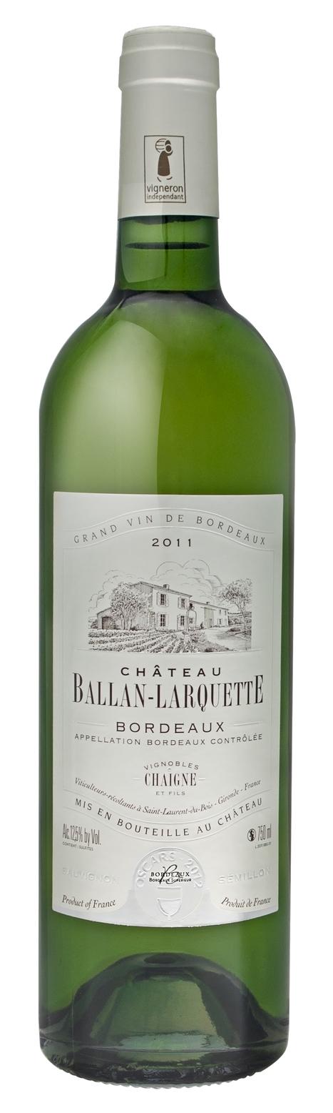 Château Ballan-Larquette Bordeaux blanc appreciated by consumers in California & Arizona - Via @bevmo | Nombrilisme | Scoop.it