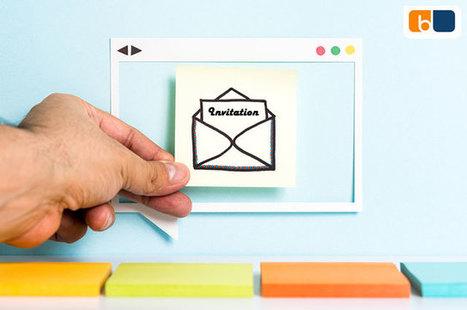 L'emailing invitation - Blog Emailing | E-mailing | Scoop.it
