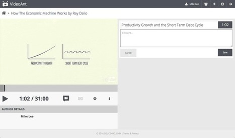 VideoAnt. Ajouter annotations et commentaires à une vidéo – Les Outils Tice | Les outils du Web 2.0 | Scoop.it