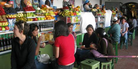 Au Maroc, ''mahlabates'' et grande distribution se disputent le marché lucratif des jus | magasin connecté | Scoop.it