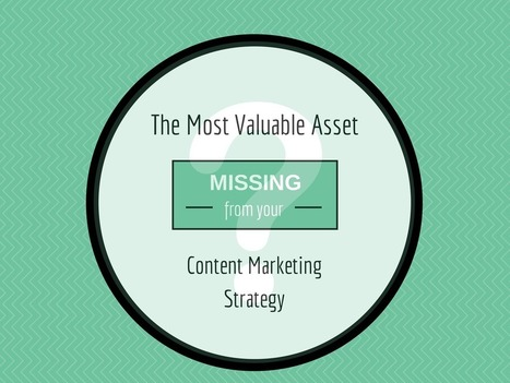 The Most Valuable Asset Missing from Your Content Marketing Strategy - Kapost Content Marketeer   Marketing strategy   Scoop.it
