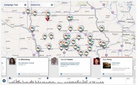 Les déplacements pour la campagne électorale aux USA pourront se suivre sur Foursquare | toute l'info sur Foursquare | Scoop.it