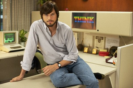 Ashton Kutcher, un minuto dal nuovo film su Steve Jobs | Internet Strategist | Scoop.it