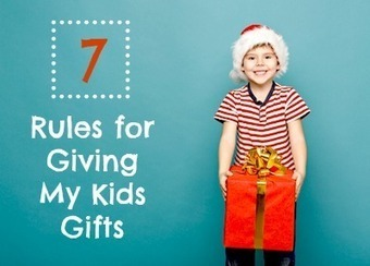 7 Rules for Giving My Kids Gifts at Babble | It's Show Prep for Radio | Scoop.it