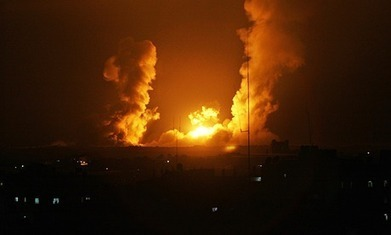 Israeli jets and helicopters launched dozens of air strikes | business | Scoop.it