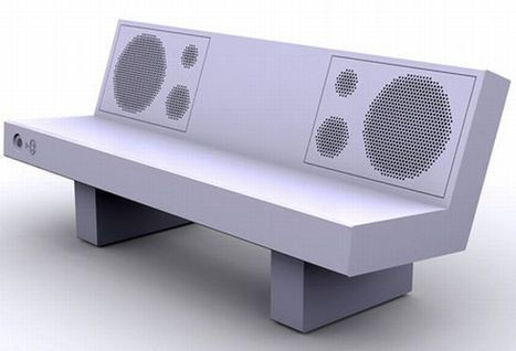 Le mobilier urbain et le design, évolution des concepts | Tendances : déco et habitat | Scoop.it