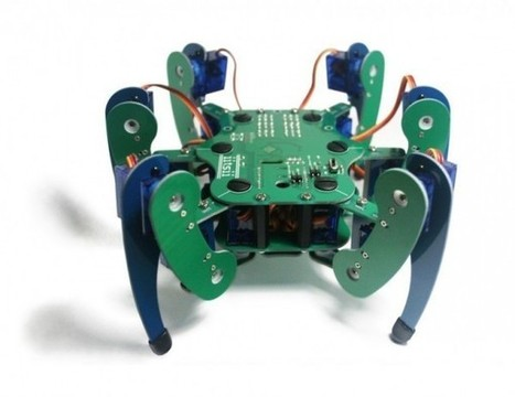 Robugtix T8 : un impressionnant robot tarentule | veille technologique sur la robotique 3C | Scoop.it