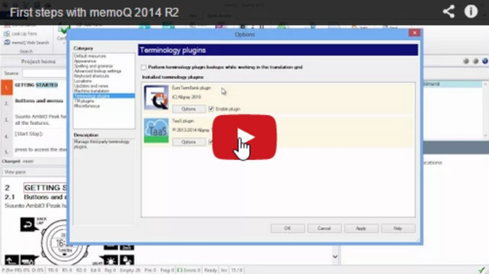 (CAT) (VIDEO) - First steps with memoQ 2014 R2   CATguru   Glossarissimo!   Scoop.it